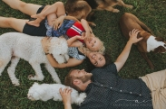 Family and Pet Session by Richmond, VA family photographer Anika Colombo Photography
